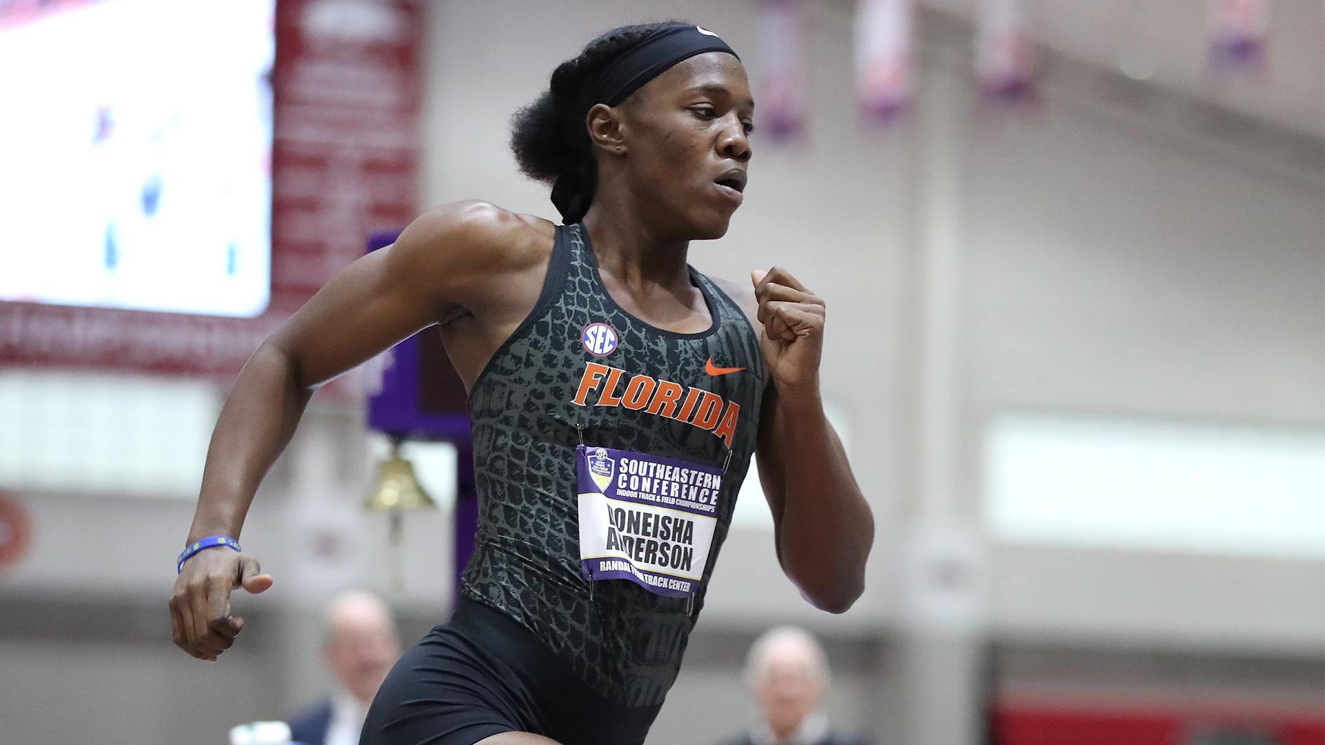 Anderson named SEC Women's Runner of the Week