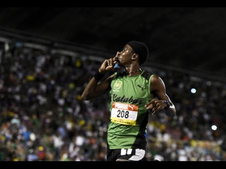 Kevroy Venson stands tall at Cooperate Meet