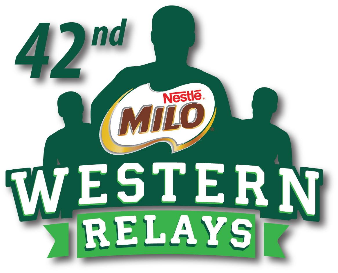 Milo Western Relays 2020 logo