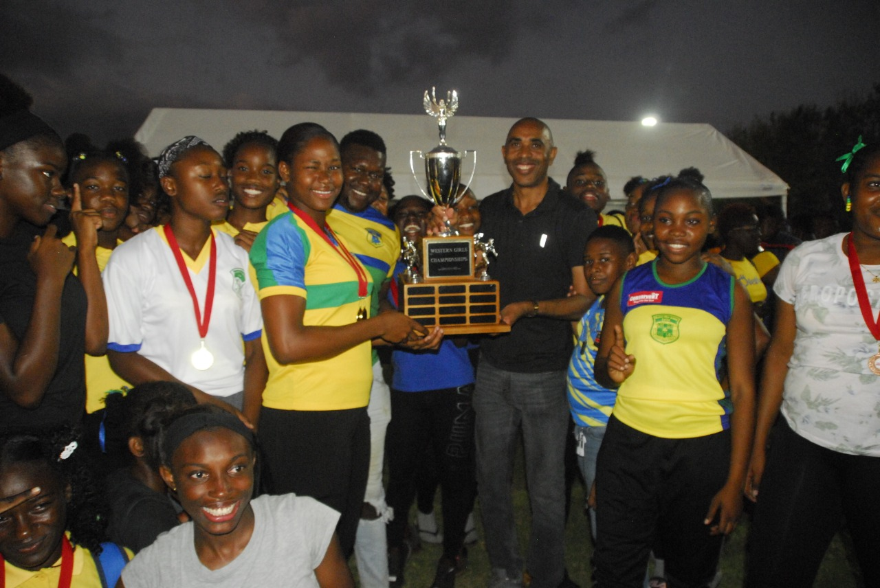 Rusea's, winner of Western Champs girls' section 2020