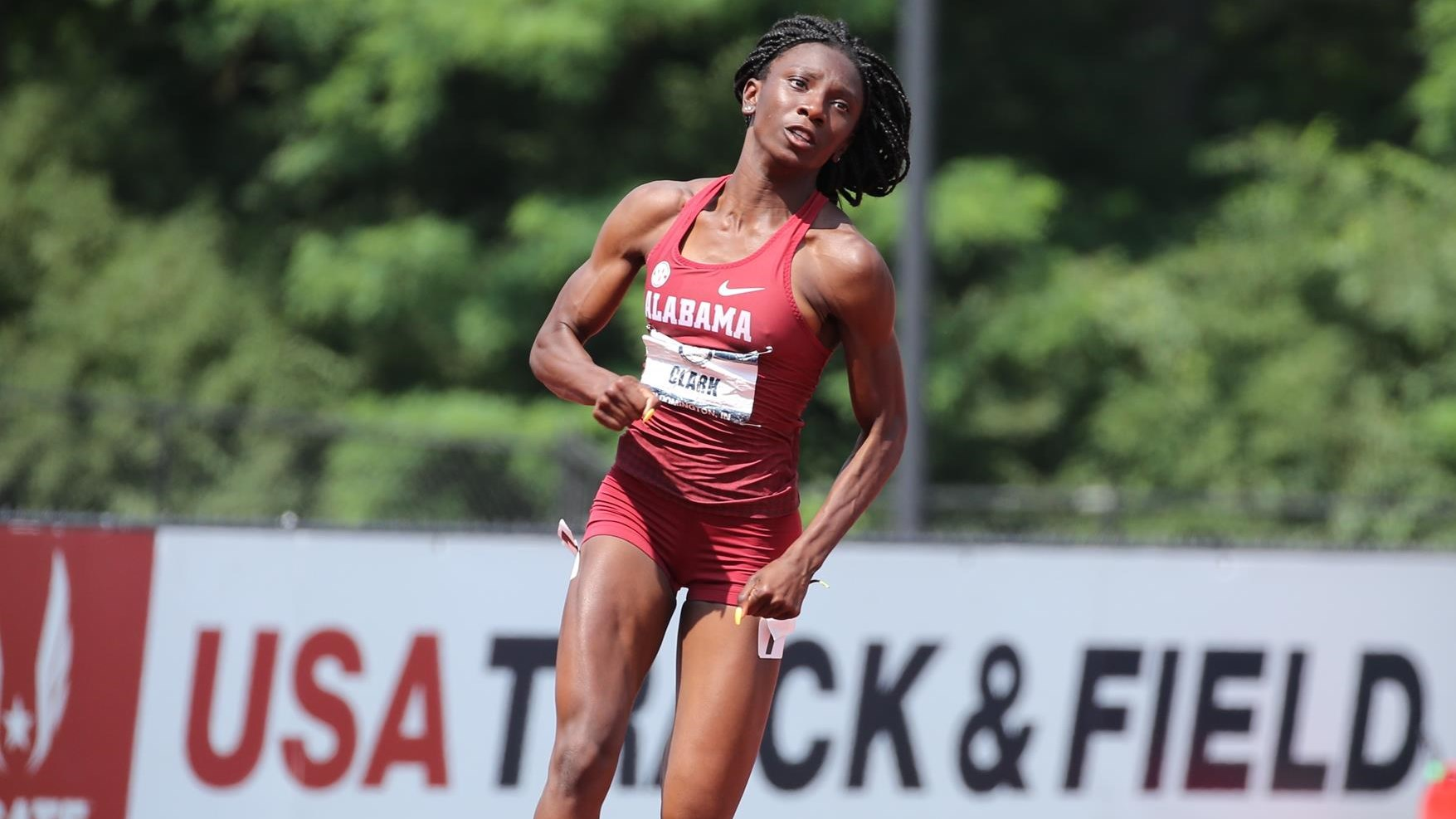 Alabama Track and Field's Clark and Colantonio Jr. Earn SEC Weekly Honors