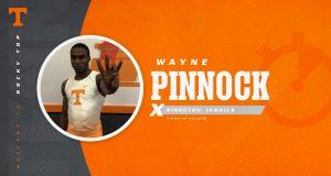 Wayne Pinnock is also a very successful sprint hurdler.