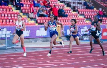 Elaine Thompson-Herah wins at Gateshead Diamond League