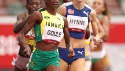 Natoya Goule into Tokyo 2020 800m semi-finals