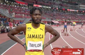 Christopher Taylor into the Tokyo 2020 400m final for Kamila Skolimowska Memorial