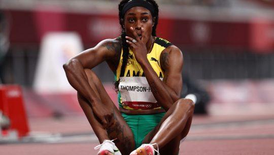 Elaine Thompson-Herah into the Tokyo 2020 women's 200m final