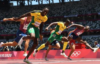 Hansle Parchment created perhaps the biggest upset of the Tokyo 2020 Olympic Games so far