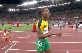 Stephenie-Ann McPherson ready for Tokyo 2020 gold ... Briana and Sha'Carri