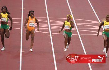 Jamaica get 1-2-3 in Tokyo 2020 women's 100m final