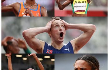Who should be the male and female track & field athlete of Tokyo 2020 Olympics?