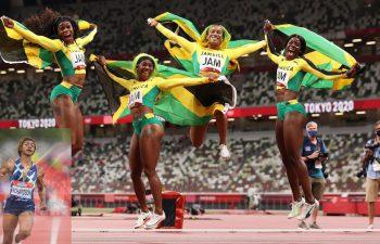 Jamaica big 4 at Prefontaine Classic