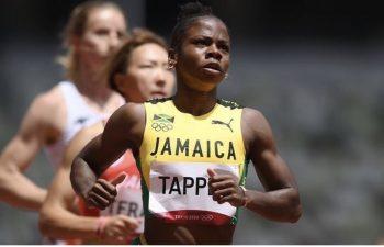 Megan Tapper wins bronze at Tokyo 2020
