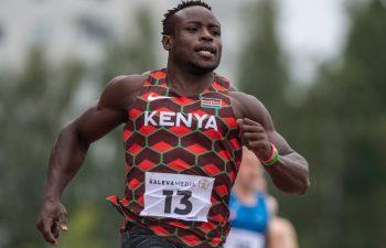 Ferdinand Omanyala wants Bolt's record
