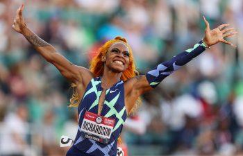 Usain Bolt likes Sha'Carri Richardson energy