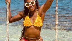 Two-time Olympic Games sprint double champion Elaine Thompson-Herah is enjoying her time away from the track.